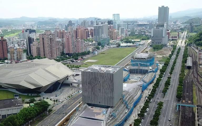 Main Hall, Taipei Music Center, Taiwan.
