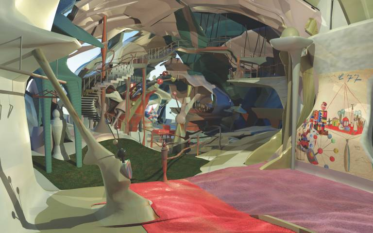 Image: Kinder Kunst Garden by Ruoxi Jia, Architecture BSc (UG3)
