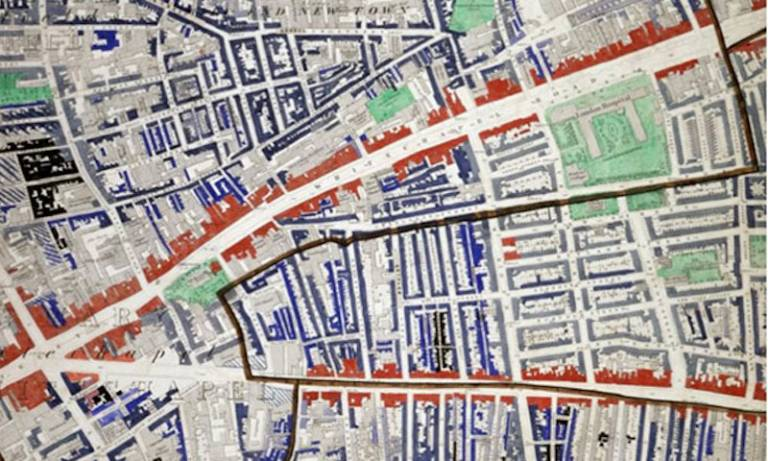 Mapping the East End 'Labyrinth' - research project
