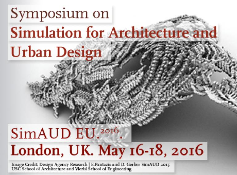 SimAUD symposium 2016