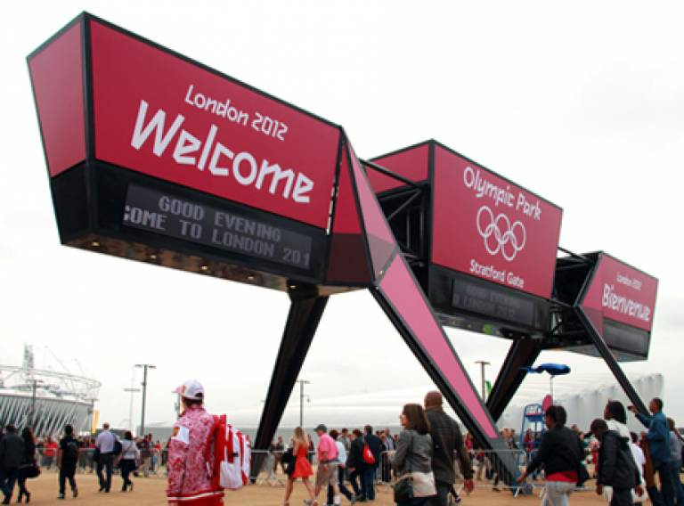 Surface Architects Wayfinding Structures for London 2012