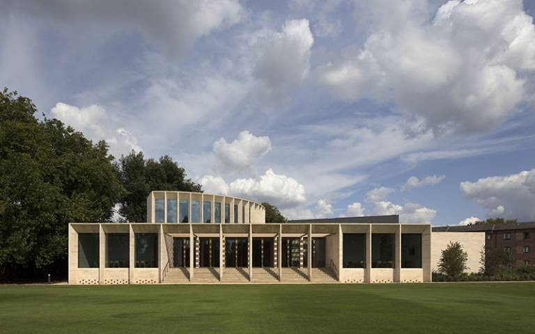 Sultan Nazrin Shah Centre Oxford by Niall McLaughlin Architects