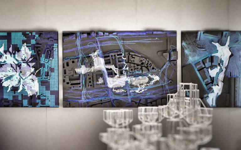 BPro Show 2019. Urban Design models from clusters RC18, RC14, and RC17