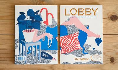 The cover of LOBBY Magazine No.4 Abundance