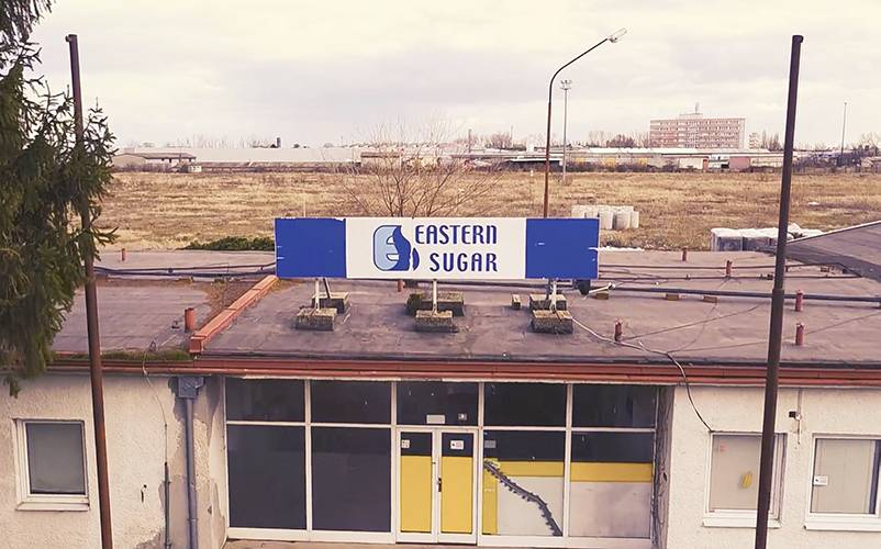 Video still from Dunajska Streda. Ilona Németh: Eastern Sugar/Archive/Eastern Sugar Sugar company, 2017-2018