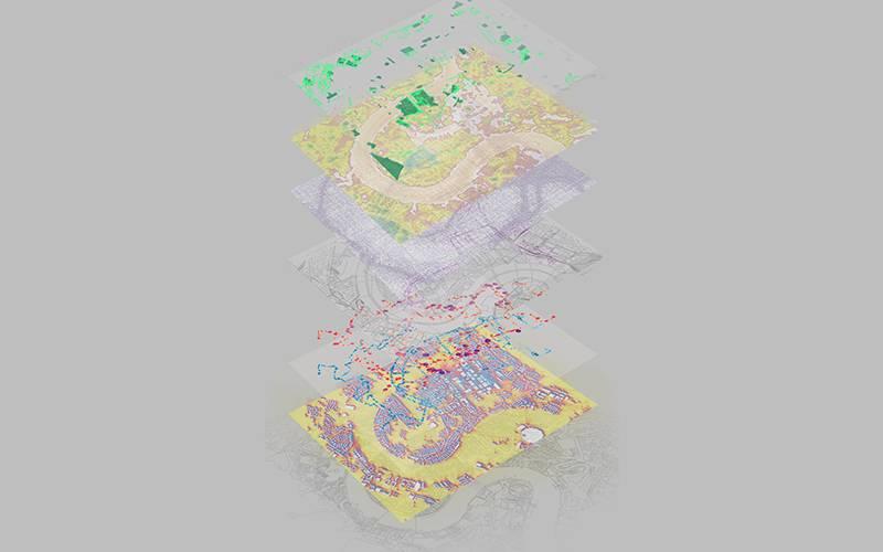 'Agritecture', by Urban Design Research Cluster 18. Zheyu Sun, De Yu, Jingyun (Zoe) Zhao