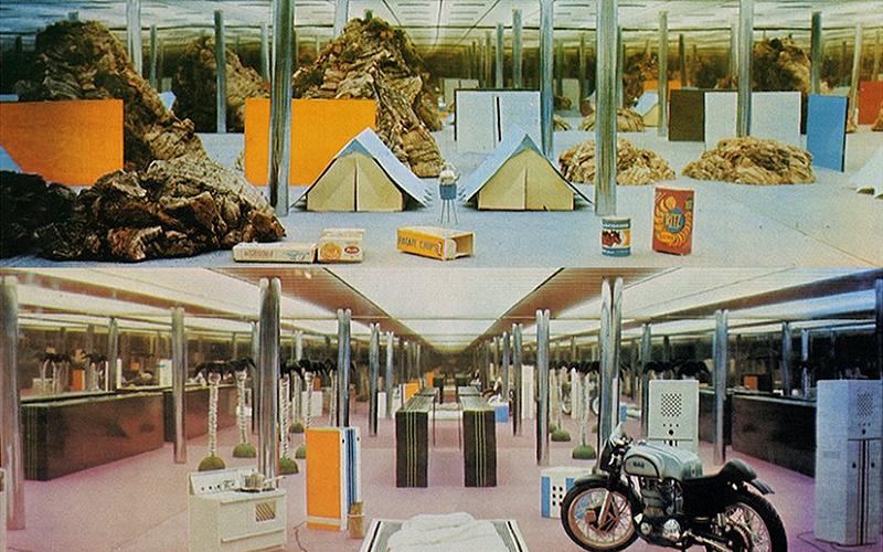 Archizoom Association, No-Stop City, 1968–1972.