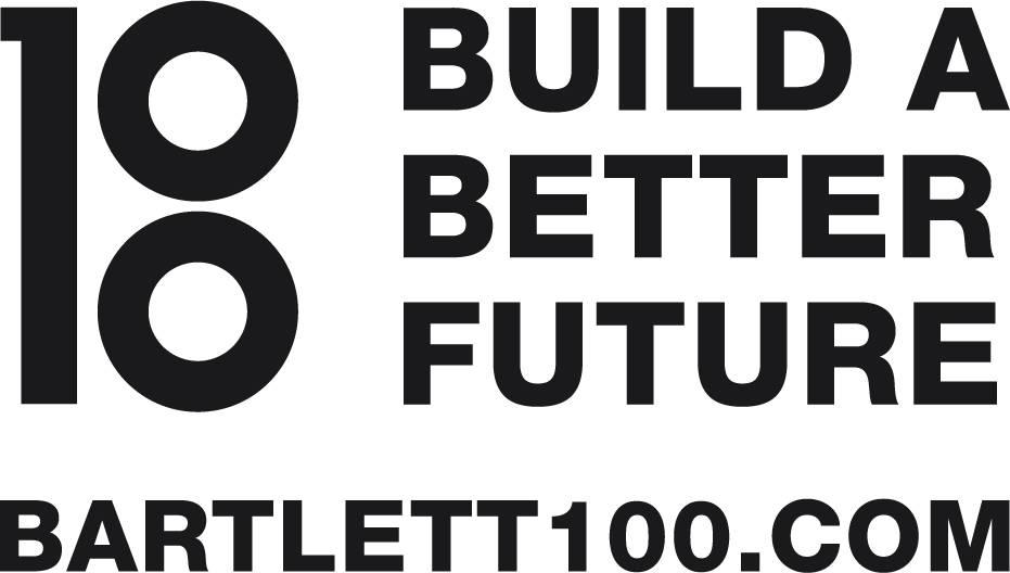 Bartlet 100 logo