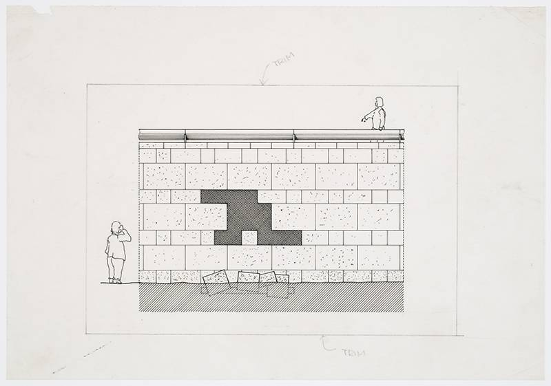 Image: Staatsgalerie, Stuttgart, Germany: Elevation (1977-1984), James Stirling/Michael Wilford fonds, Canadian Centre for Architecture