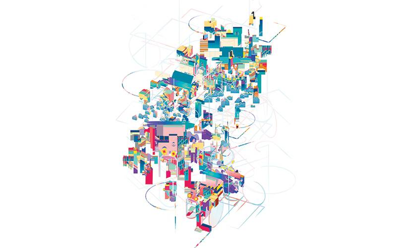 'Kintsugi City', by Urban Design Research Cluster 12. Yu Qi, Ziyi Yang