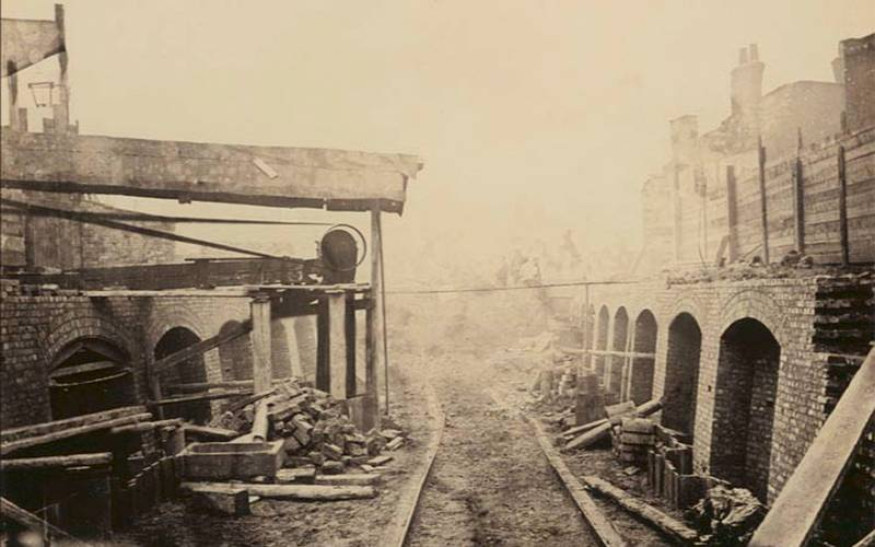 The Construction of the Metropolitan District Railway, Henry Flather, 1860s