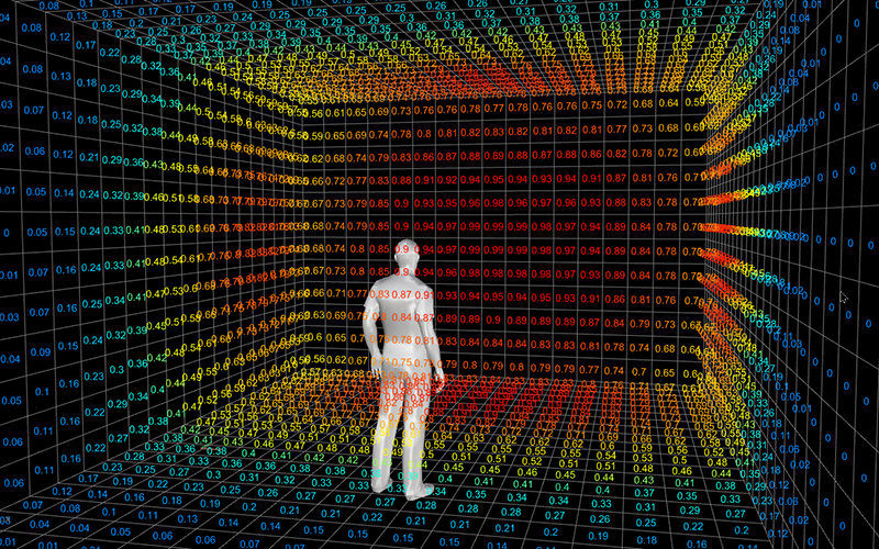 3D Visual Attention Heatmap in Space