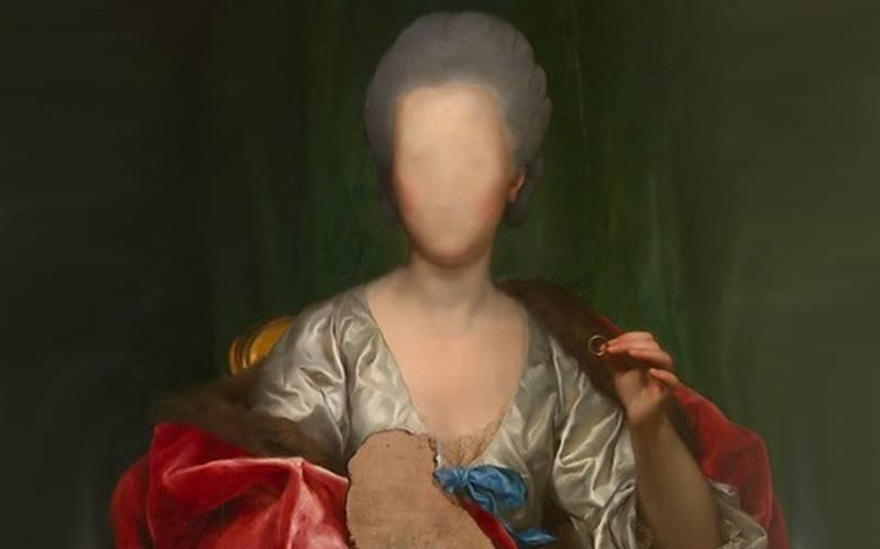 Anton Raphael Mengs, 'Portrait of Mariana de Silva y Sarmiento, Duquesa de Huescar' (1775).