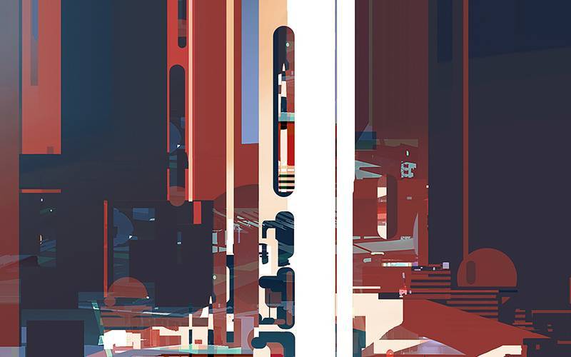 Futuristic Port by Sparth