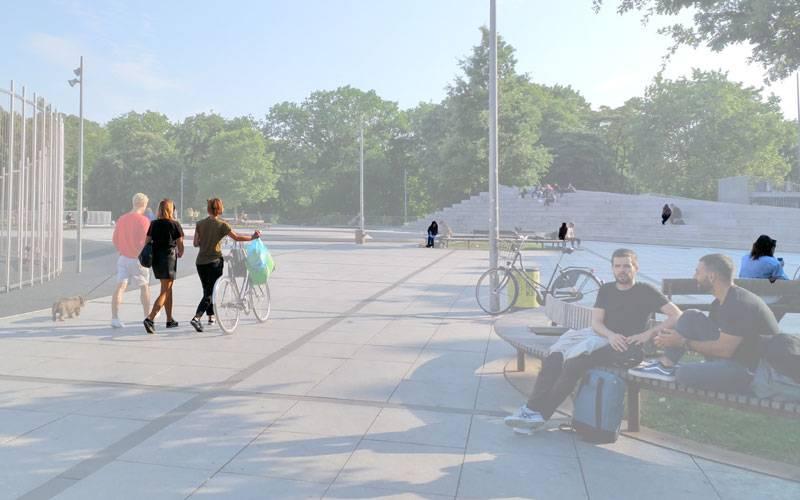 Public space in Copenhagen: Constance Desenfant