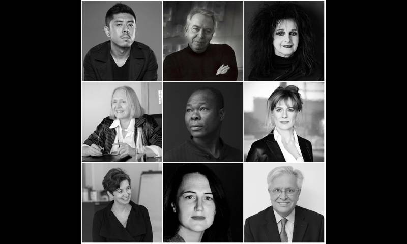 Portraits of speakers for the RIBA inaugural international week conference 2017