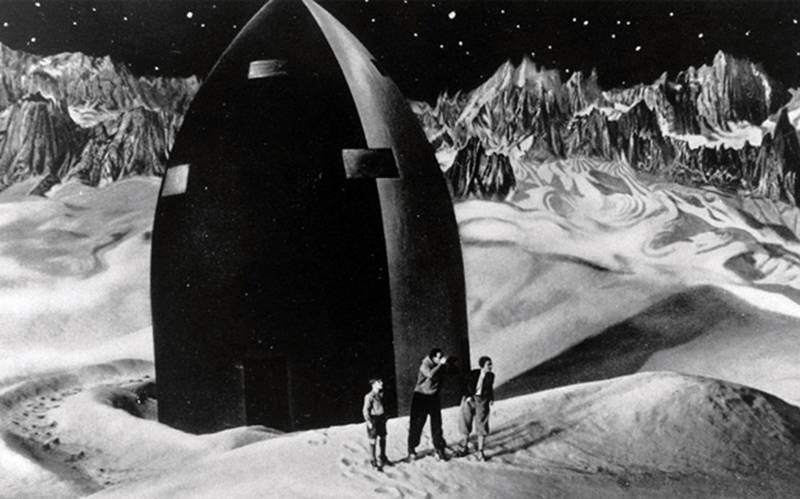 Frau Im Mond, by Fritz Lang, 1929.