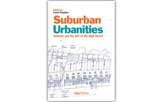 Cover of Laura Vaughan's book Suburban Urbanites