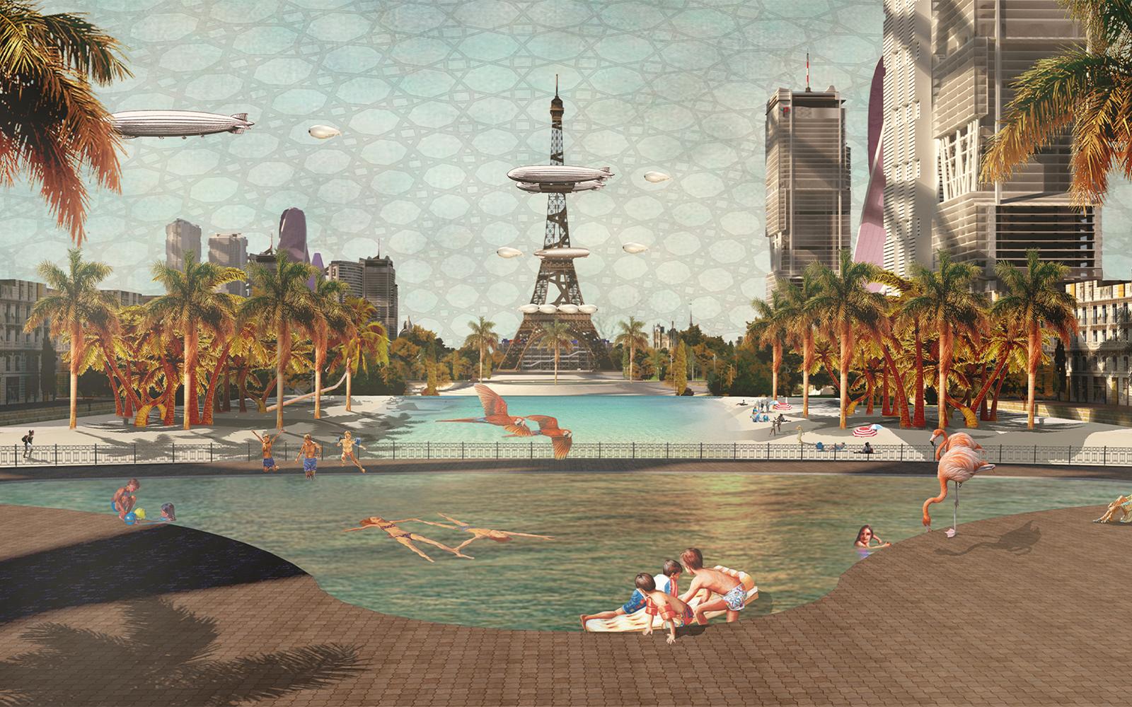 Duopolis by Iason Ntounis, Architecture & Historic Urban Environments MA
