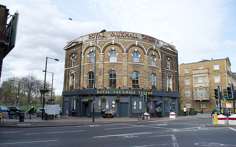 The Vauxhall Tavern, in London.