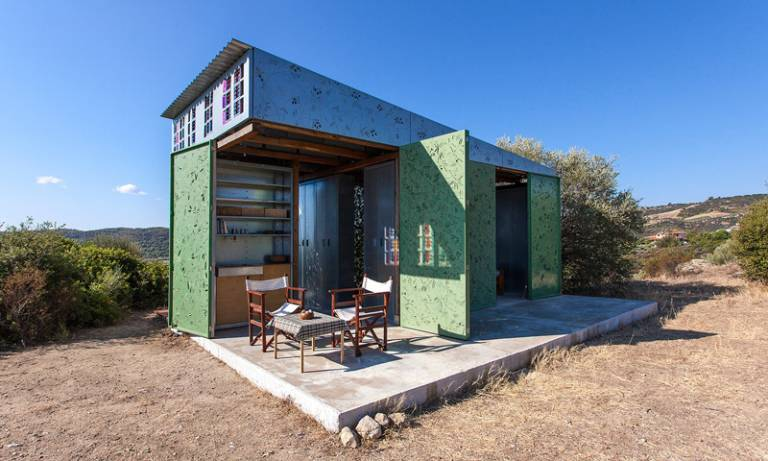 Eva Sopeoglou – Summer House in Halkidiki project