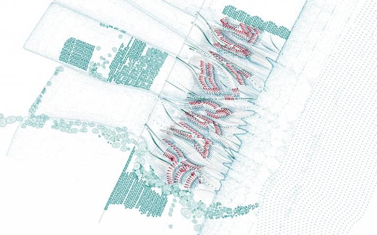 Tiberia Masterplan. LlabresTabony Architects.