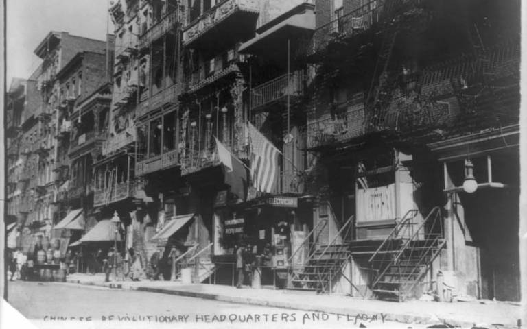 Image:Mott Street, 1911. Bain Collection, Library of Congress, Washington, DC (unrestricted).