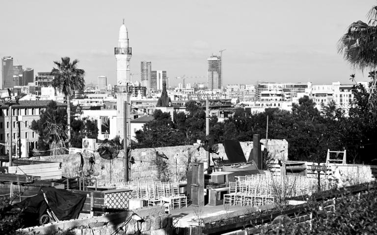 Tel Aviv from Jaffa, by Stella Fox. Bartlett Research Conversations.