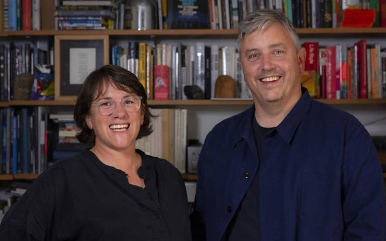 Profs Laura Allen and Mark Smout
