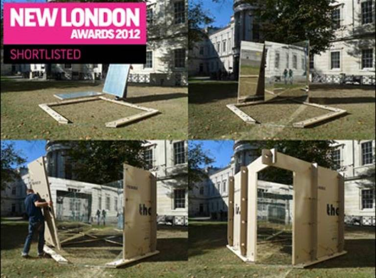 Mobile Studio Architects Shortlisted - New London Awards 2012