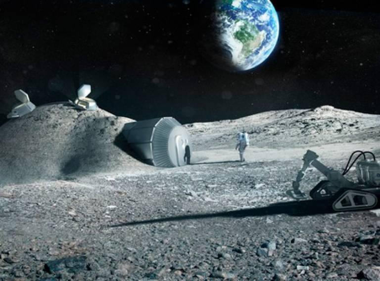 Lunar 3d base