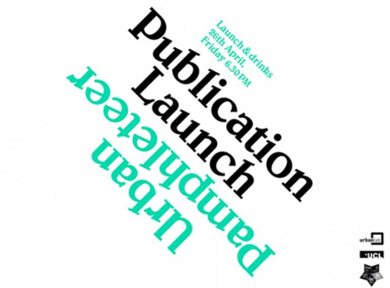 Urban Pamphleteer Launch