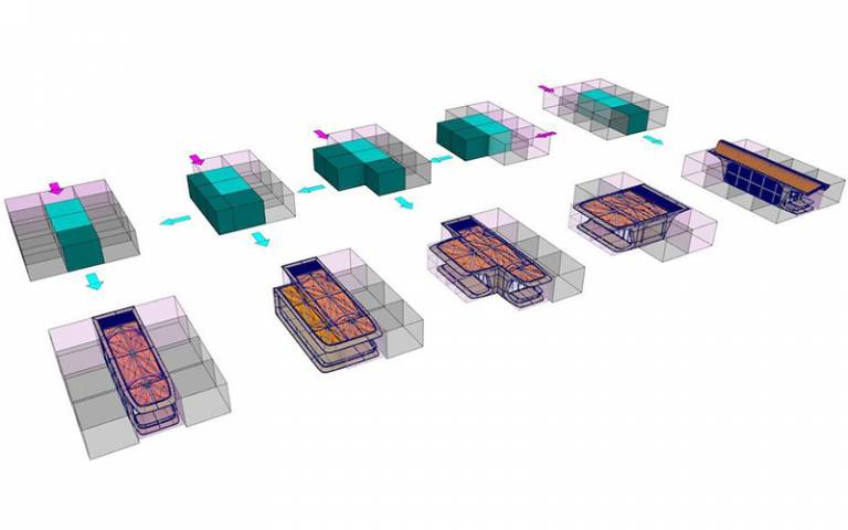 'Housing Voxel Encoding and In-place Generation of Architectural Geometry', courtesy of Zaha Hadid Computation & Design Research Group (ZHCODE), Zaha Hadid Architects
