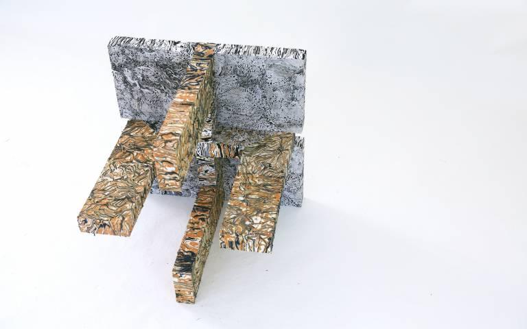 'Fabric Hewn' by Tai Jung Lee, Jiqi Qu, Xin Xie, Xinge Zhu, Research Clusters 5 & 6, 2020