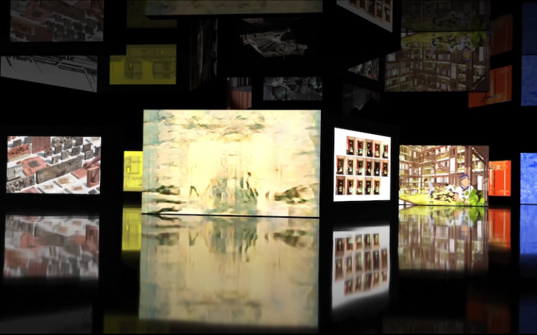 View of The Bartlett Summer Show 2020 digital exhibition room