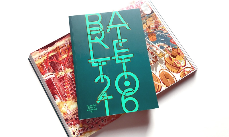 Cover and spread of The Bartlett Book 2016
