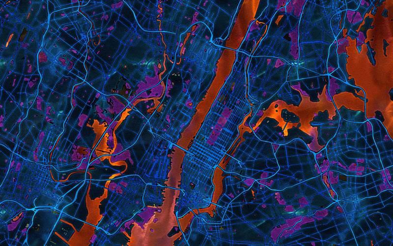 Ecem Ergin: map of New York City