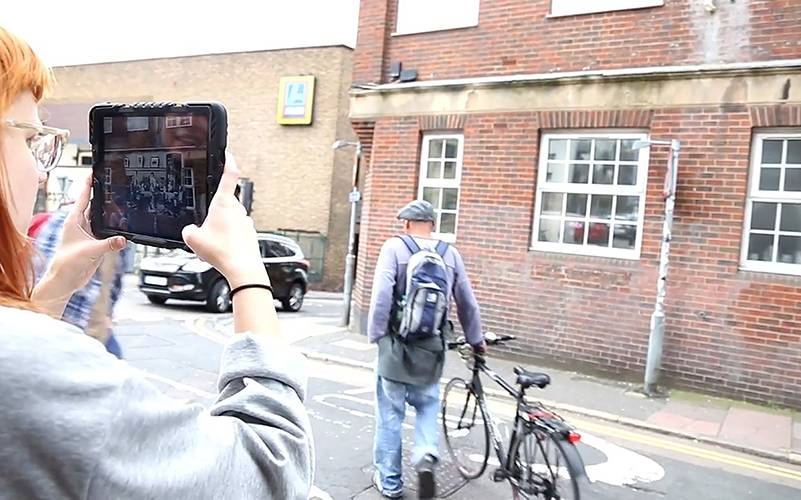 VisAge: Augmented Reality for Heritage, 2014-2016, UCL