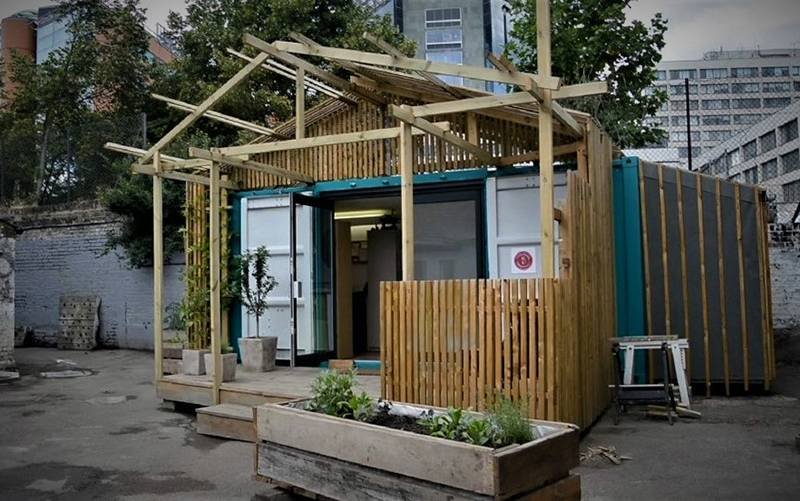 Container Studio: Old Paradise Yard, by Ella Harris