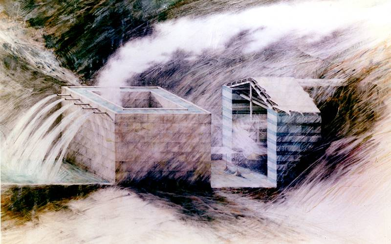 Water House, by Peter Wilson
