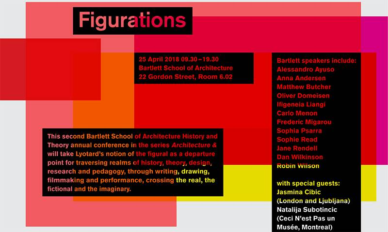 Figurations: History and Theory Conference poster