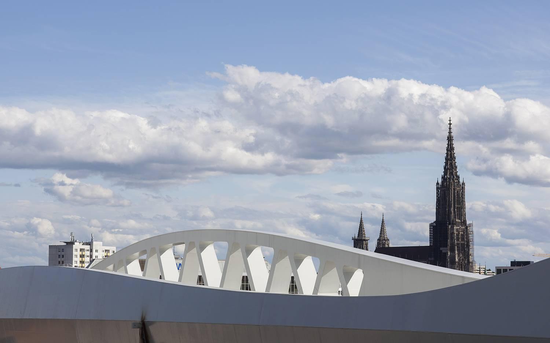 Bridge in Ulm, Germany