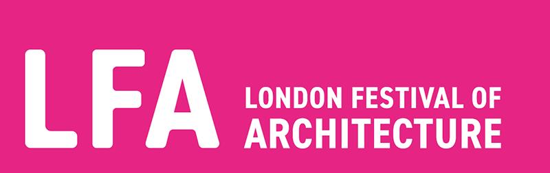 London Festival of Architecture logo, 2019.