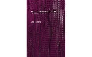 Cover of Mario Carpo's book The Second Digital Turn