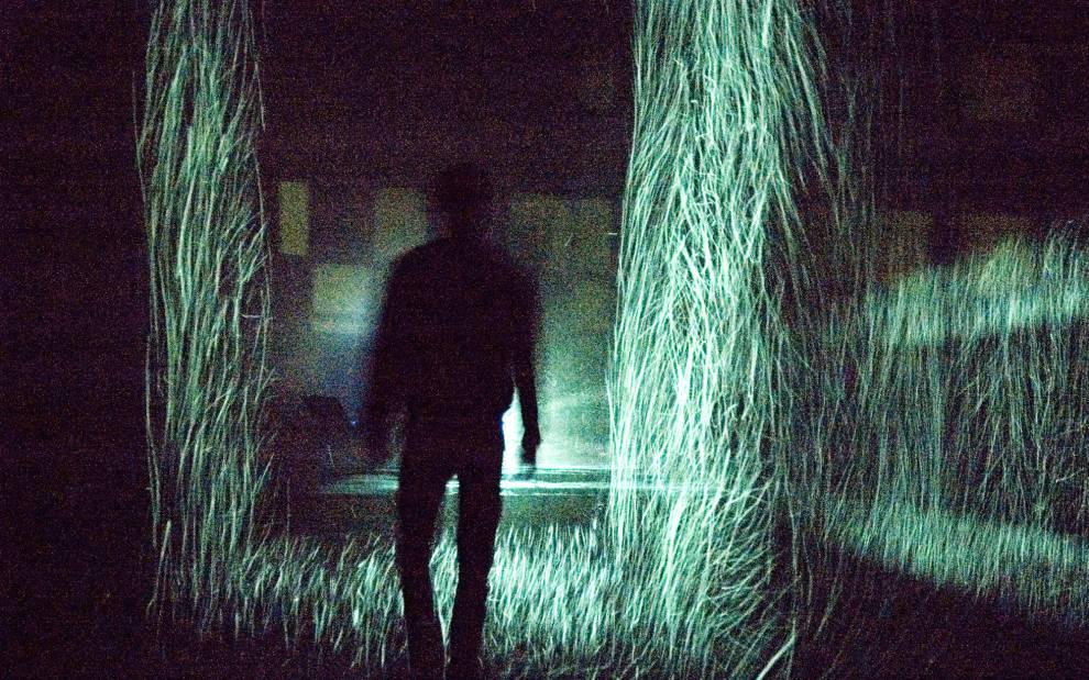 Evaporative Buildings'. An Installation piece by Alex Schweder, Chinati Foundation, Marfa, Texas. 2009