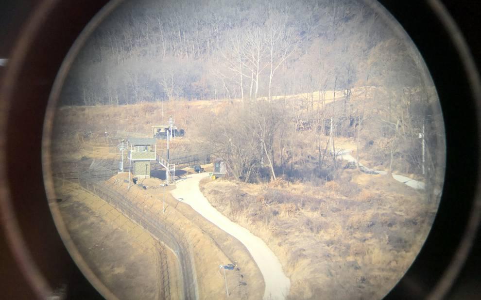 UG9, 'Korean Demilitarised Zone: Watchtower', photograph by Chee-Kit Lai, 2019