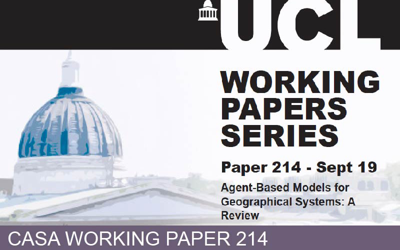 CASA Working Paper 214