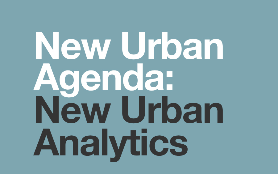 New Urban Agenda: New Urban Analytics