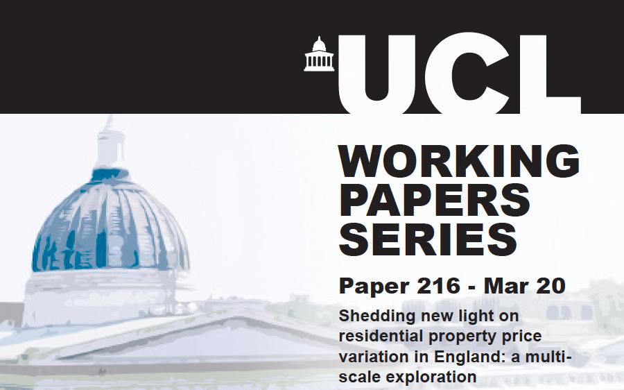 CASA Working Paper 216