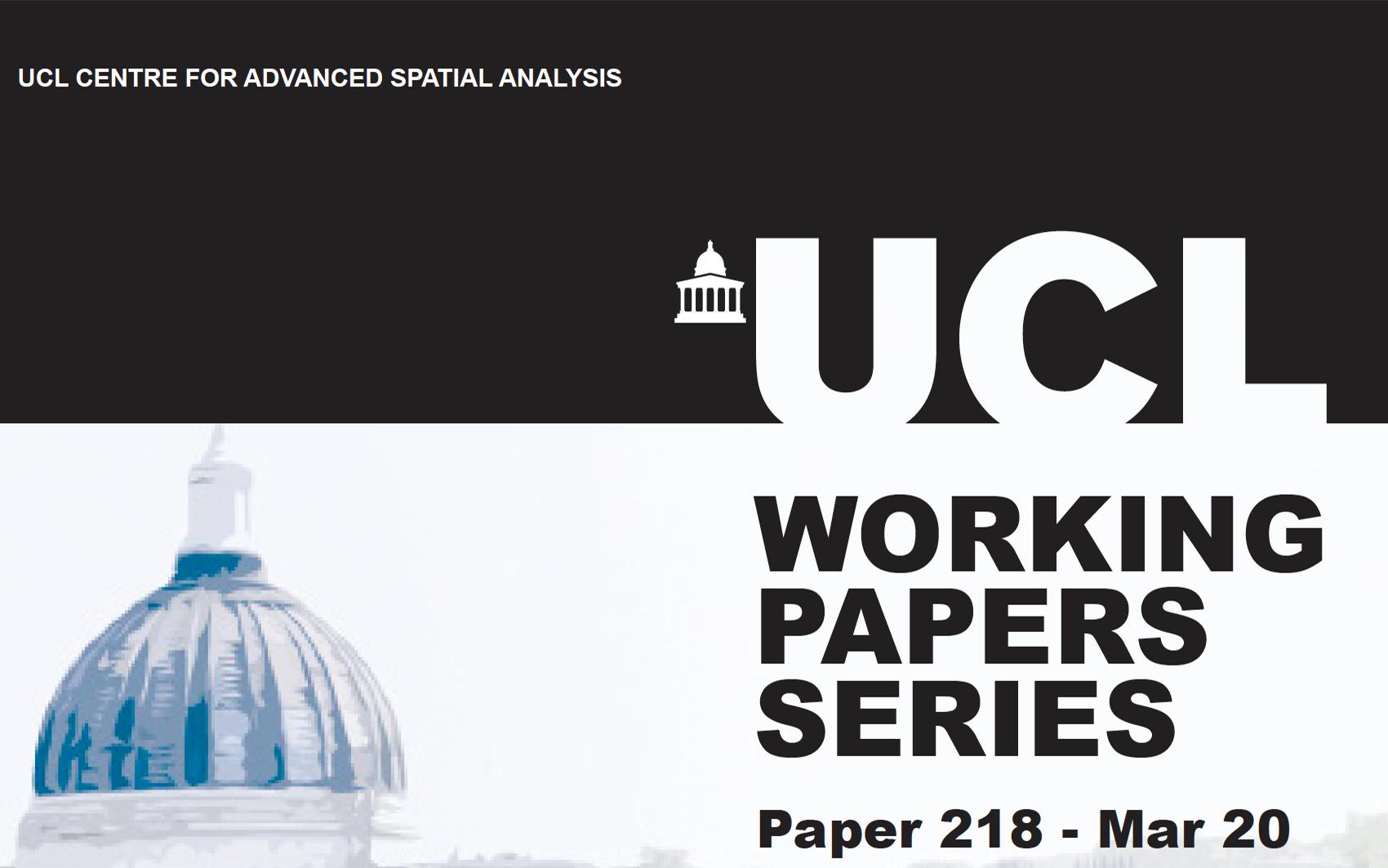 CASA Working Paper